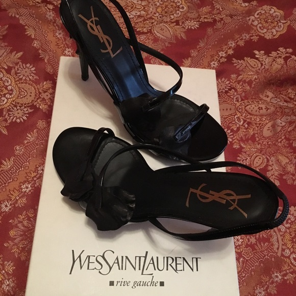 fc00bbf2d3d Yves Saint Laurent Shoes | 100 Authentic Ysl High Heel Sandal Brand ...